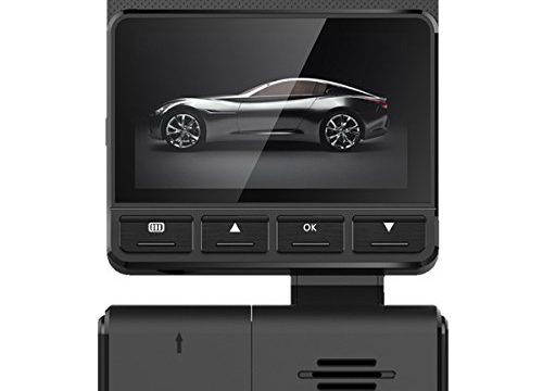 Meyoung Dash Cam Night Vision 320° Lens Rotation Car Camera Recorder FHD 1080P Hidden Design 170° Wide Angle with Loop Recording, G-Sensor, WDR MC2