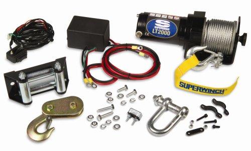 Superwinch 1120210 LT2000 12-Volt ATV Winch 2,000 lb Capacity