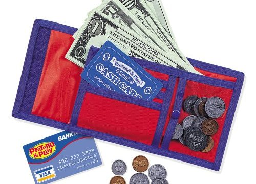 Learning Resources Cash 'N' Carry Wallet