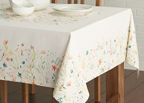 Maison d' Hermine Colmar 100% Cotton Tablecloth 54 – inch by 54 – inch.