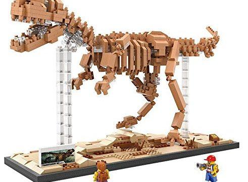 LOZ Diamond Blocks Jurassic World Dinosaur Fossils – Tyrannosaurus Rex T-Rex 9023