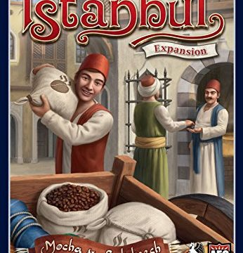 Istanbul Expansion Mocha and Baksheesh Board Game