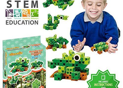 Toys For Boys Age 6 : Click a brick rainforest rascals pc building blocks