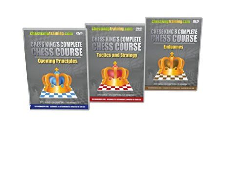ALL 3 VOLUMES – Chess King's Complete Chess Course