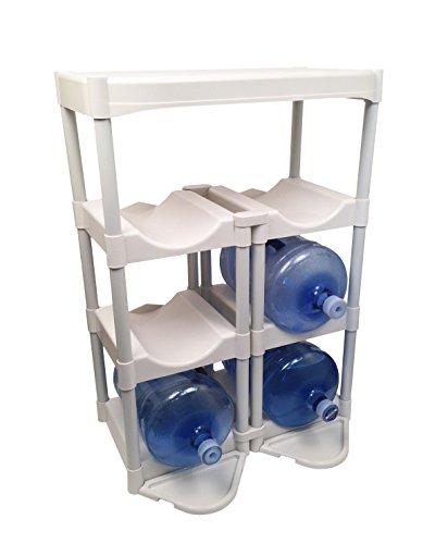 Bottle Buddy Complete Storage System White Zenipla