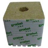 Grodan Rockwool – 4x4x2.5in. Cubes, 6 pack w/holes