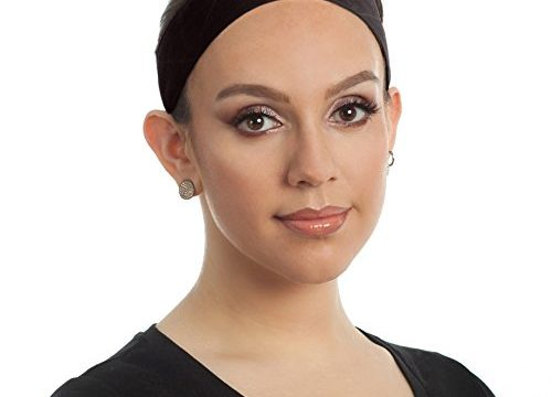 Velcro Closure – Adjustable Comfort Head Hair Band for Women – Prevents Headaches & Hair Loss Brown – Premium Wig Grip Headband, Bundle with Free Comb – Non Slip, Keeps Wig Secured – Velvet Material