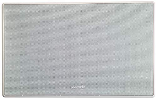 The Vanishing Series, Easily Fits into the Wall, High-performance Audio, With Power Port and Paintable Wafer-Thin Sheer Grille – Polk Audio 255C-RT 2-way In-Wall Center Channel Speaker