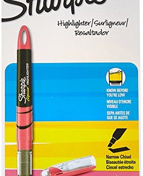 Sharpie Accent Products – Sold As 1 Dozen – Versatile chise – Sharpie Accent – Pigmented ink for brilliant color. – Features a visible ink supply so you never run out unexpectedly. – Accent Liquid Pen Style Highlighter, Chisel Tip, Fluorescent Pink, 12/Pk