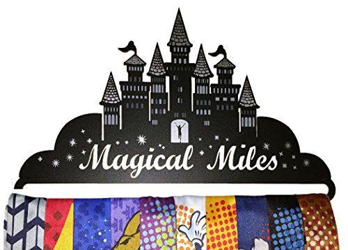 Gone For a Run | Runner's Race Medal Hanger | Magical Miles