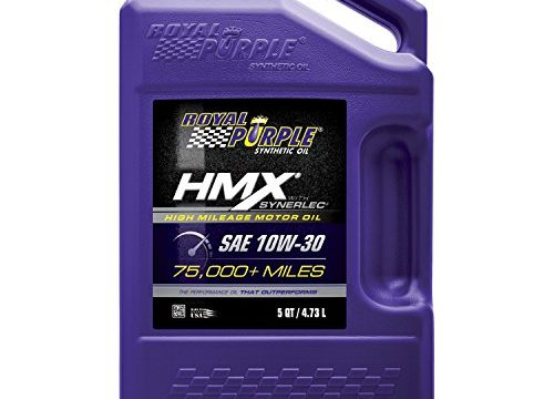 5 qt. – Royal Purple 11750 HMX SAE 10W-30 High-Mileage Synthetic Motor Oil