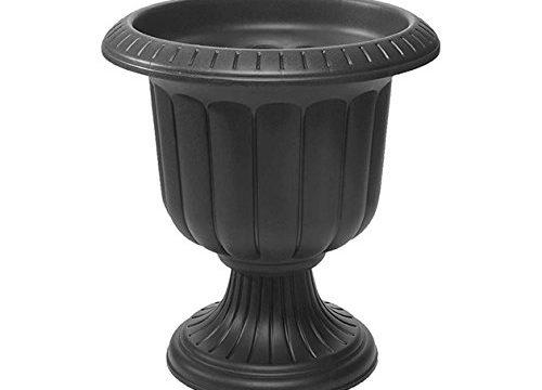 Novelty 38198.03 Classic Urn Planter, Black, 19-Inch
