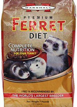 Marshall Premium Ferret Diet, 7-Pound Bag