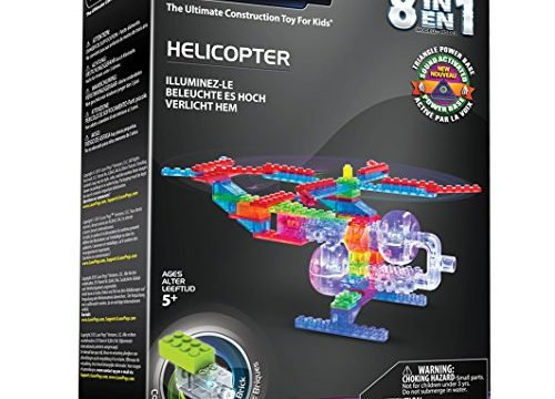 Laser Pegs 8-in-1 Helicopter Building Set