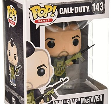 "Funko Call of Duty John ""SOAP"" MacTavish Pop Games Figure"