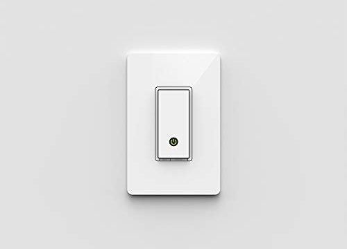 Wemo Light Switch, WiFi enabled, Works with Alexa and the Google Assistant F7C030fc