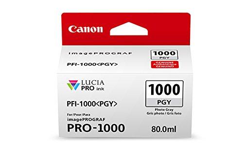 CanonInk Lucia PRO PFI-1000 Photo Gray Individual Ink Tank