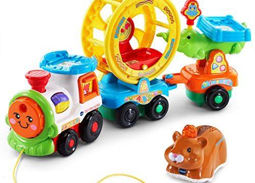 VTech Go! Go! Smart Animals Roll & Spin Pet Train