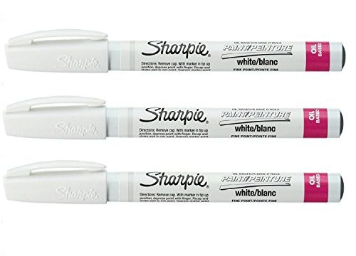 Fine Point Paint Marker Set of 3 Color: White