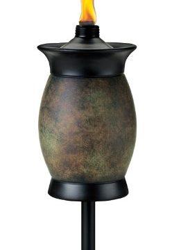 TIKI Brand 64-inch Resin Jar Torch 4-in-1 Stone Color