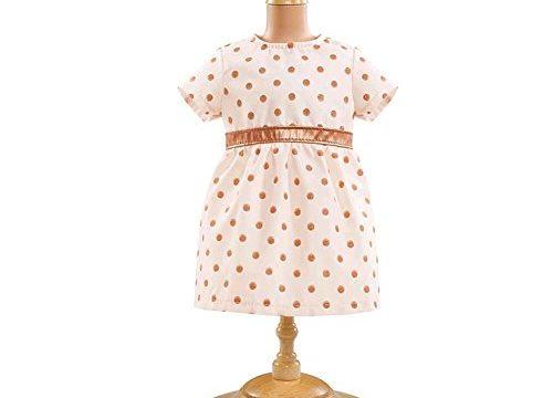 Corolle Mon Premier 12″ Pink Gold Dress