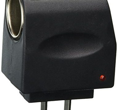 Tzou AC to DC Car Cigarette Lighter Socket Adapter US Plug Style 1