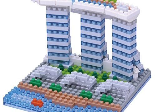 Nanoblocks Nbh123 Nb – Marina Bay Sands Building Kit