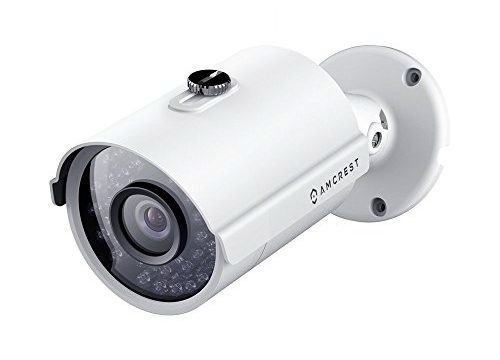 ProHD IP Camera POE Bullet, 98ft Night Vision, IP67 Outdoor, 2048 TVL, IP3M-954E White – Amcrest 3MP Outdoor POE Security Camera