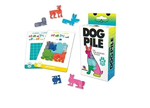 Brainwright Dog Pile The Pup Packing Puzzle 48 Pieces