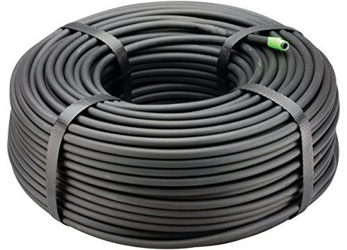Rain Bird T22-250S Drip Irrigation 1/4″ Blank Distribution Tubing, 250′ Roll, Black