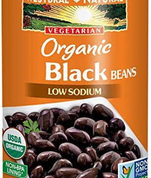 Westbrae Natural Organic Black Beans, 15 Ounce Cans Pack of 12