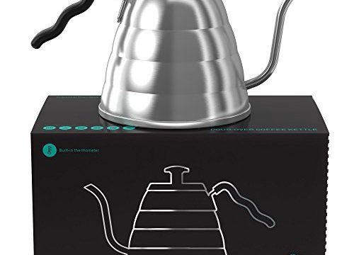 Fixed Thermometer for Exact Temperature 40floz – Coffee Gator Pour Over Kettle