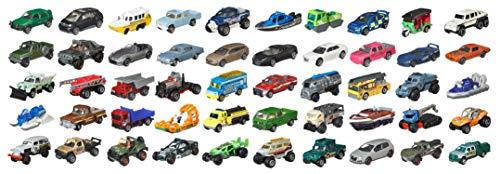Matchbox Cars Toy, 50 Pack, Styles May Vary, Multicolor