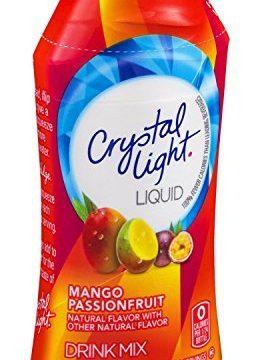Crystal Light Liquid Drink Mix Mango Passionfruit Flavor 1.62 Oz Pack of 6