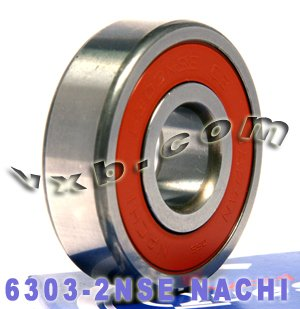 6303-2NSE Nachi Bearing 17x47x14 Sealed C3 Japan Ball Bearings