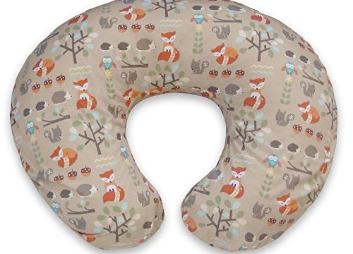 Boppy Pillow Slipcover, Classic Fox Forest/Tan