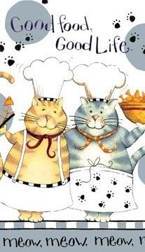 Kay Dee Designs R2630 Happy Cat Good Life Terry Towel