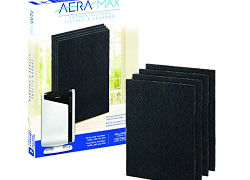 4 Pack 9324201 – Fellowes Carbon Filters for AeraMax Air Purifiers