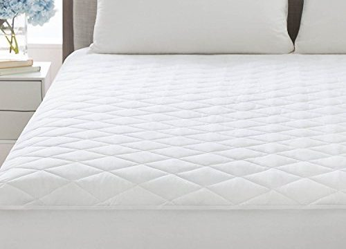 Hypoallergenic Fill – Twin – Linenspa Plush Microfiber Mattress Pad – Deep Pocket Fitted Skirt