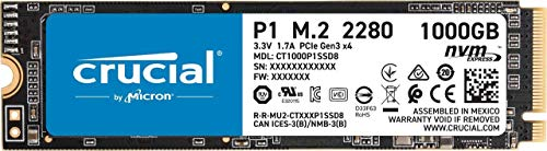 Top 10 Crucial P1 NVMe – Internal Solid State Drives
