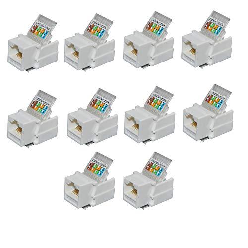 Top 4 Tooless RJ45 Cat6 – Cat 5e Ethernet Cables
