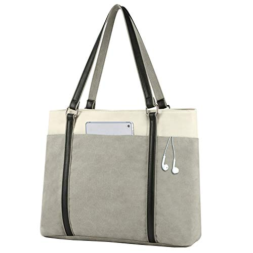 Top 10 Work Tote Bags for Women with Water Bottle Holder – Laptop Messenger & Shoulder Bags