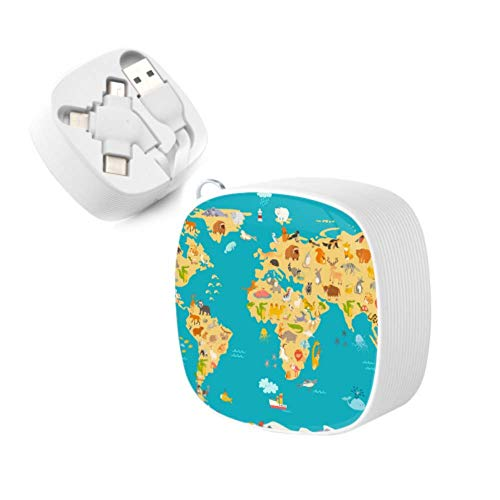 Top 10 World Map Poster – USB Cables