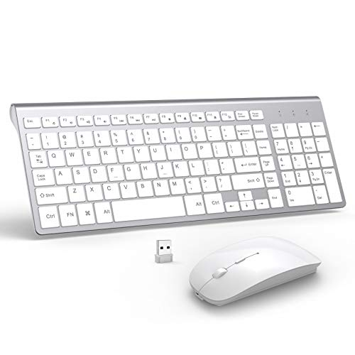 Top 10 Wireless Keyboard Mouse Combo Rechargeable Mac – Computer Keyboard & Mouse Combos