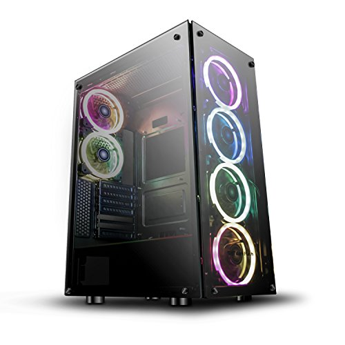 Top 10 PC Case Tempered Glass RGB – Computer Cases