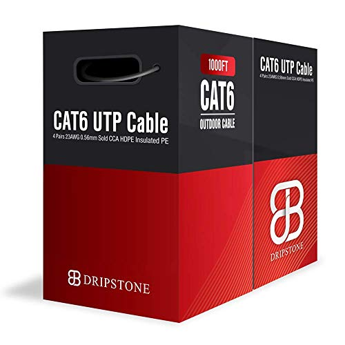 Top 9 Outdoor Cat6 Cable 1000FT – Cat 6 Ethernet Cables