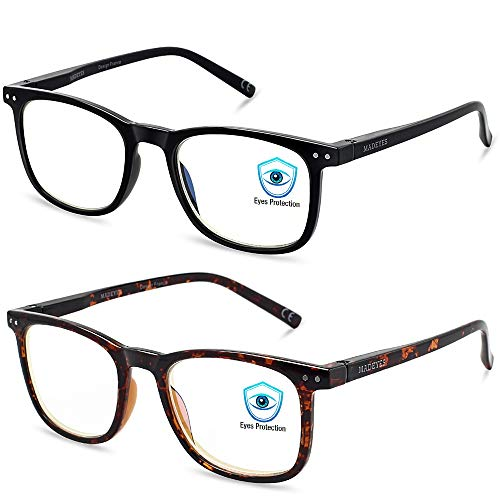 Top 10 Mad Eyes Blue Light Blocking Glasses – Computer Blue Light Blocking Glasses