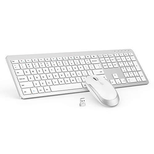 Top 10 White Wireless Keyboard and Mouse Combo – Computer Keyboard & Mouse Combos