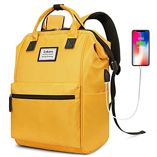Top 10 Yellow Backpack for Women – Laptop Backpacks