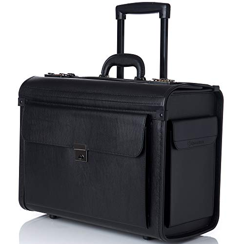 Top 10 Rolling Briefcase for Women 17 inch Laptop, with Wheels – Laptop Briefcases